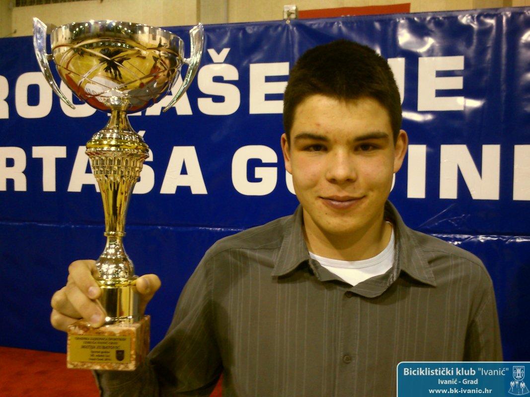 Matija Zubatović, najbolji sportaš 2013. godine u kategoriji mlađa mladež!