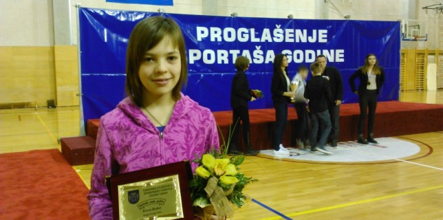 Klara Rodeš - proglašenje sportaša godine